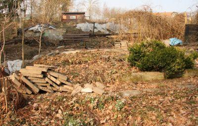 Garten im März 2011
