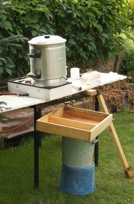Bienen- & Wespensicher aufgebaut