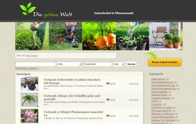 Kleinanzeigenmarkt für Pflanzen & Garten