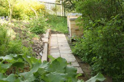 Neuer Weg zum Bienenstand