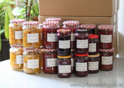 Obst und Marmelade einkochen
