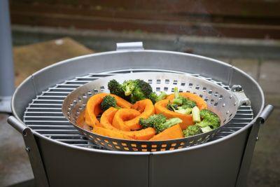 Gemüse auf dem Old Smokey